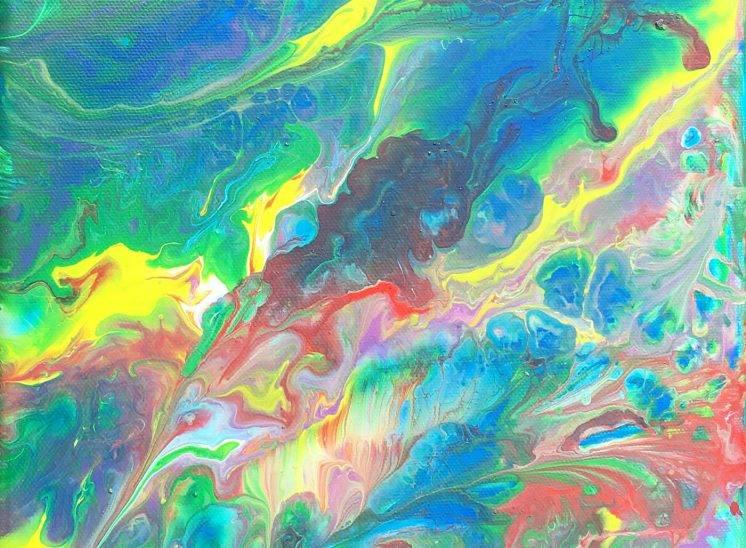 Nébuleuse de couleur