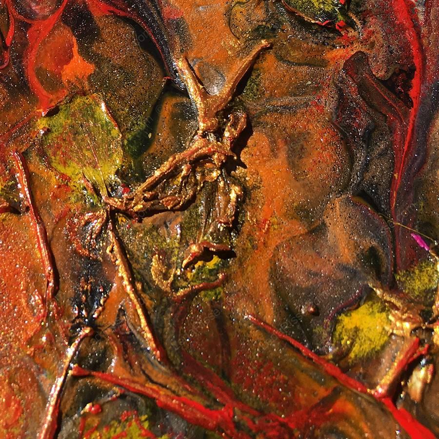 La fôret enchantée 19 x 19 cm