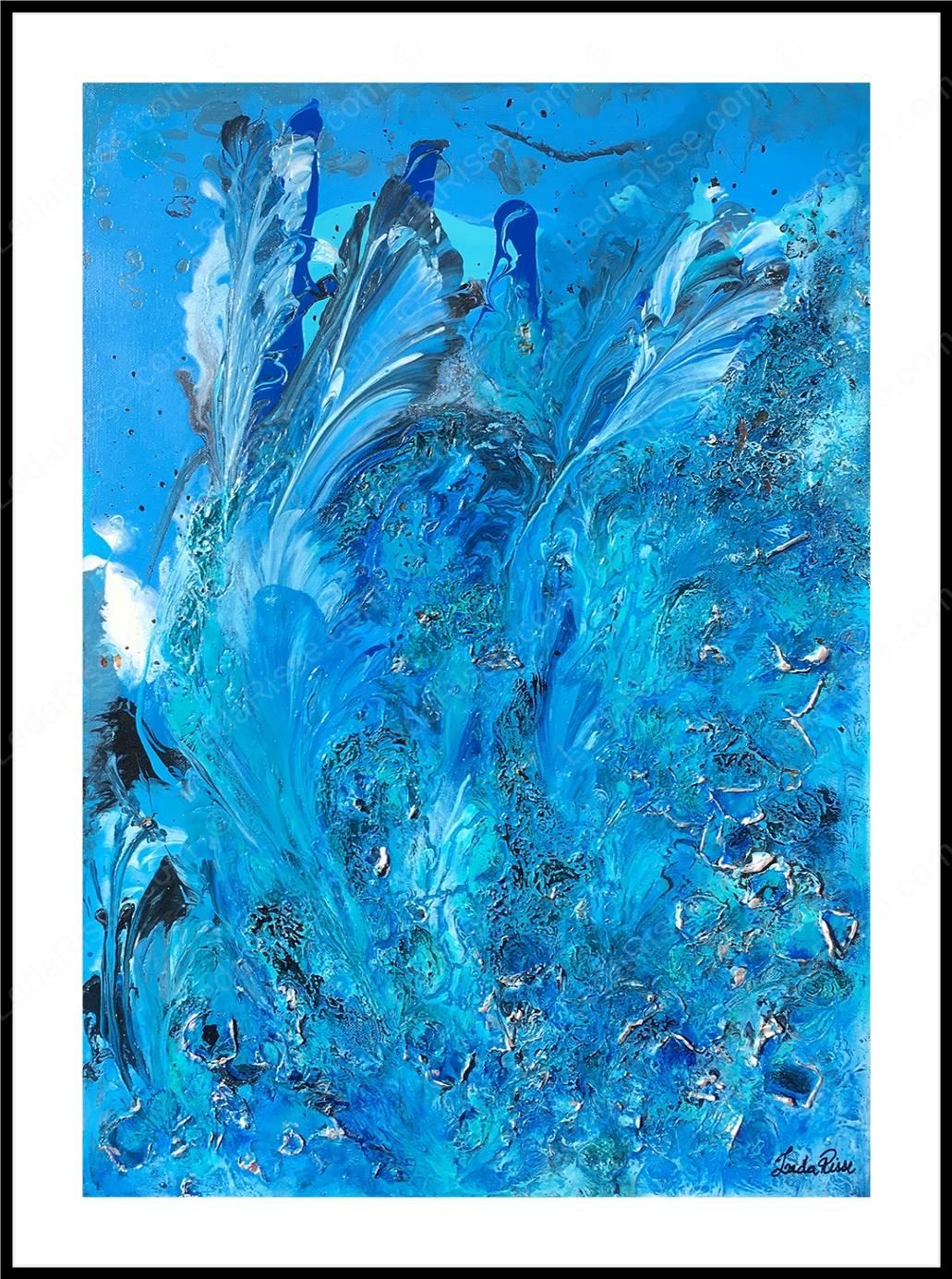 Les Sirènes 50 x 70 cm